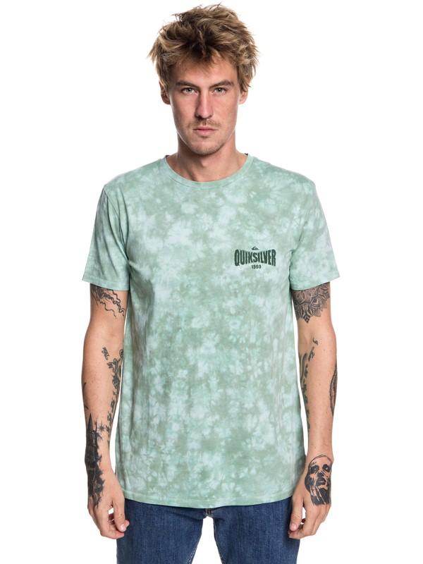 0 Rockin Rails - T-Shirt for Men Blue EQYZT05002 Quiksilver