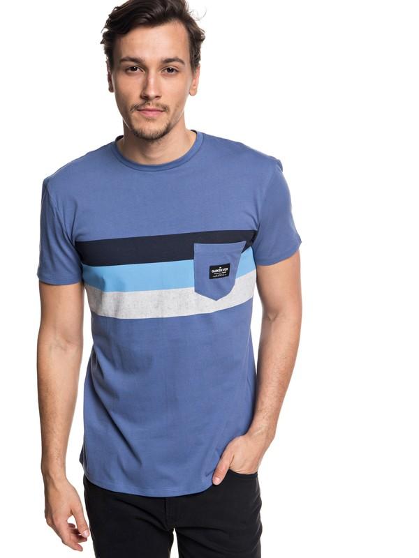 0 Peaceful Progression - T-shirt avec poche pour Homme  EQYZT05007 Quiksilver