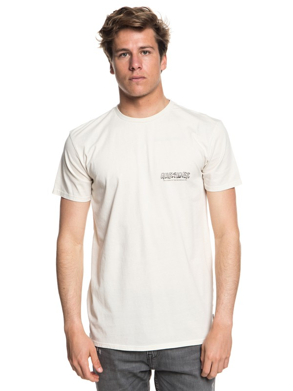0 The Original Mountain And Wave - T-Shirt for Men Beige EQYZT05009 Quiksilver
