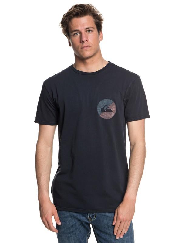 0 Shook Up - T-shirt col rond pour Homme Noir EQYZT05013 Quiksilver
