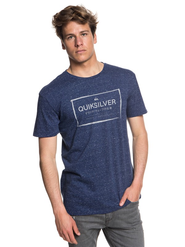 0 Quik In The Box - Camiseta para Hombre Azul EQYZT05018 Quiksilver