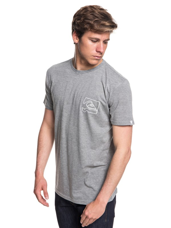0 Quik Distorsion Technical Tee Black EQYZT05124 Quiksilver