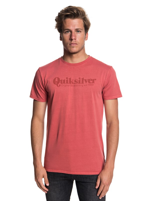 0 Fine Line Tee Pink EQYZT05162 Quiksilver