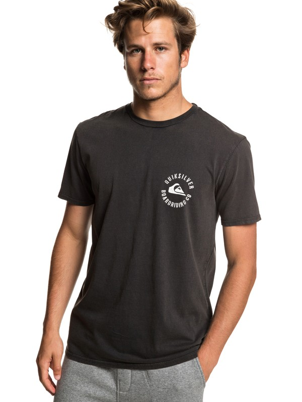 0 Skulled - T-Shirt for Men Black EQYZT05212 Quiksilver