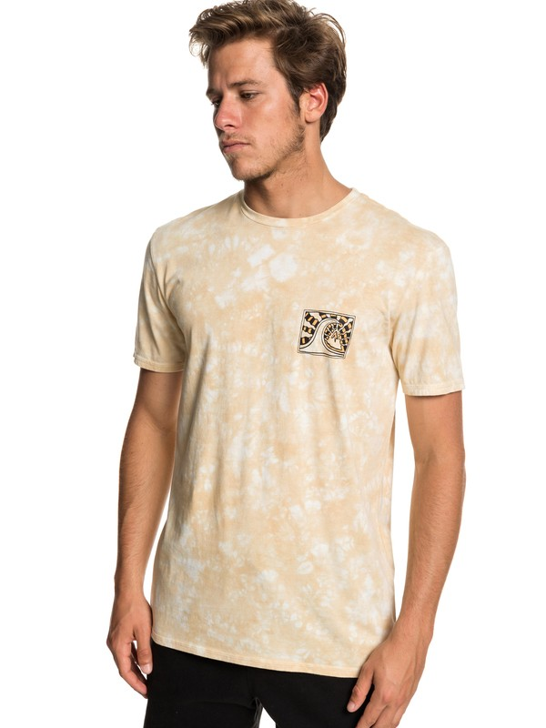 0 Bored In The Barrel Tee Beige EQYZT05215 Quiksilver