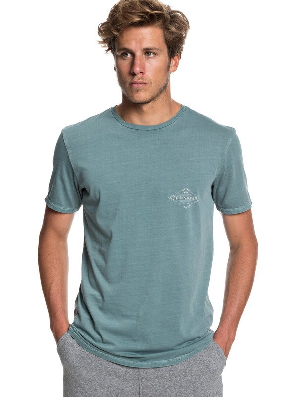 0 Vibed - T-Shirt for Men Blue EQYZT05222 Quiksilver