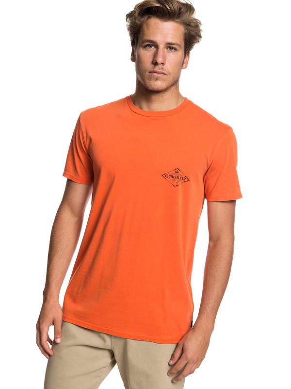0 Vibed - Camiseta para Hombre Naranja EQYZT05222 Quiksilver