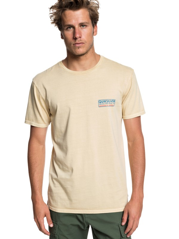 0 Paddle Forward Tee Beige EQYZT05223 Quiksilver