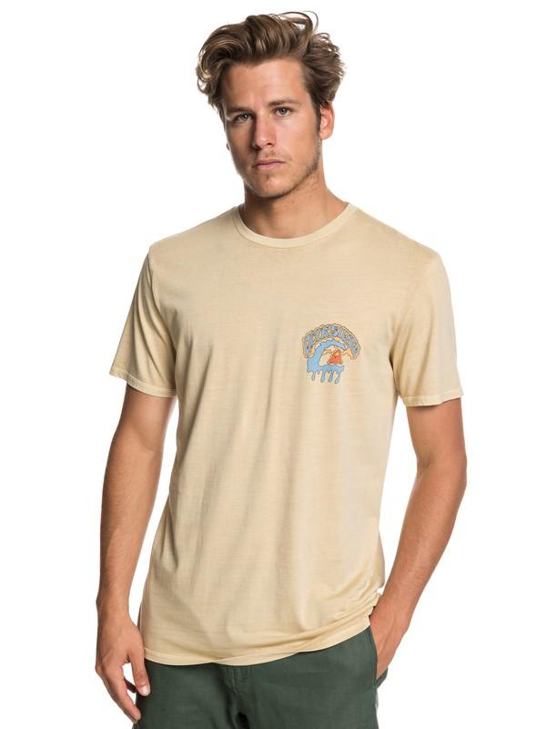 0 Phantasy Land - T-Shirt for Men Beige EQYZT05224 Quiksilver