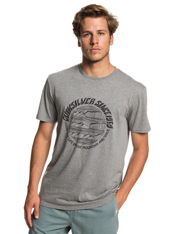 0 Camiseta Good Arvo Negro EQYZT05228 Quiksilver