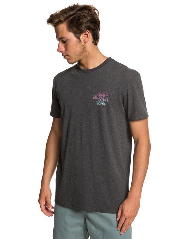0 Double Stacked - T-shirt pour Homme Noir EQYZT05230 Quiksilver