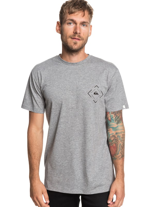 0 Square Sweller Tee Black EQYZT05240 Quiksilver