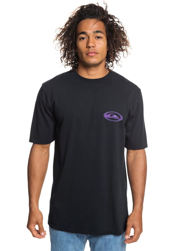 0 Cosmic Patient - T-Shirt for Men Black EQYZT05245 Quiksilver
