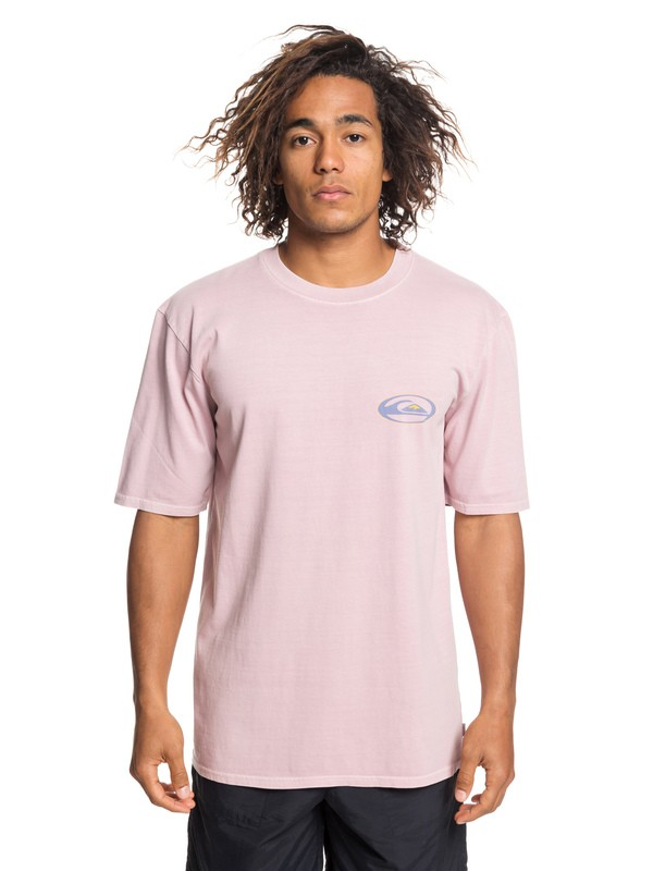 0 Cosmic Patient - T-Shirt for Men Pink EQYZT05245 Quiksilver