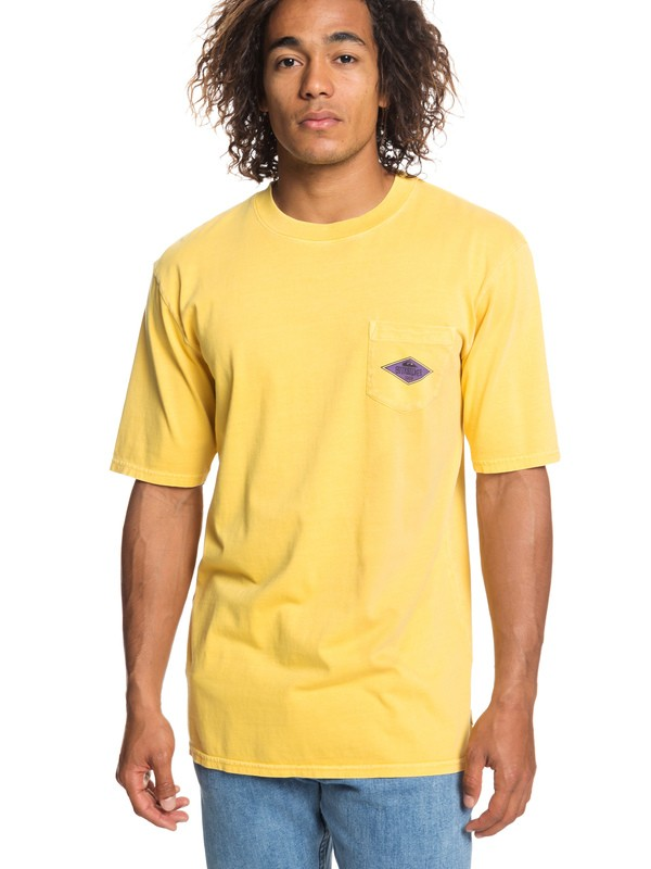 0 Ordinary Madness Pocket Tee Orange EQYZT05248 Quiksilver