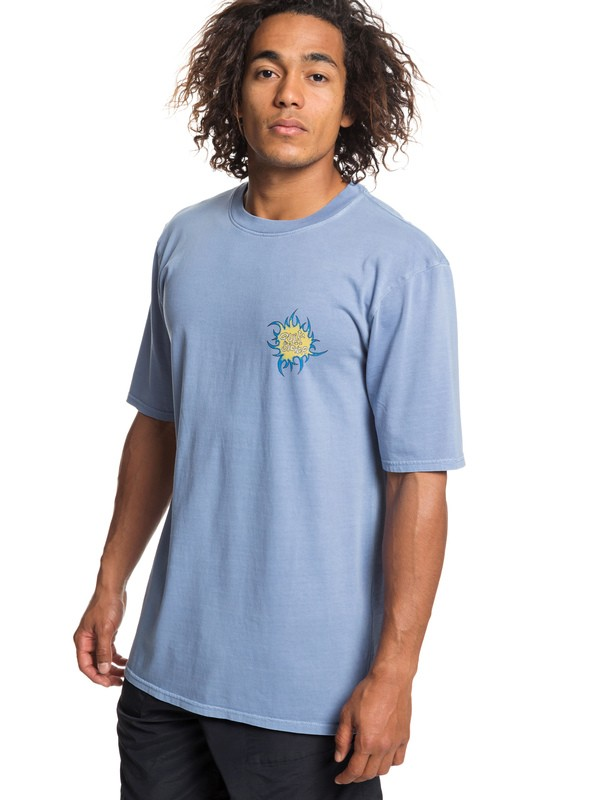 0 Quik Tribe - T-Shirt for Men Blue EQYZT05249 Quiksilver