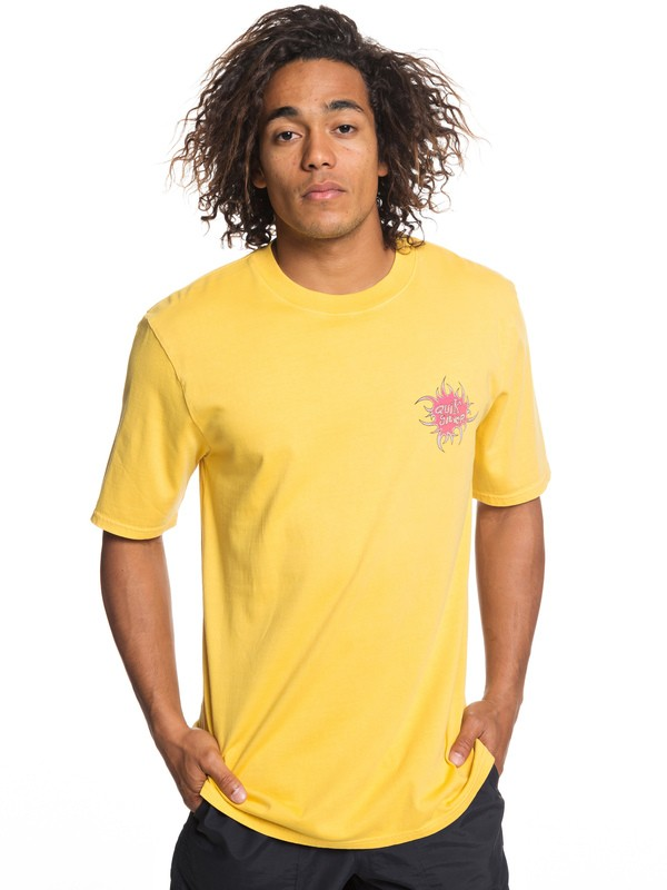 0 Quik Tribe - T-Shirt for Men Orange EQYZT05249 Quiksilver