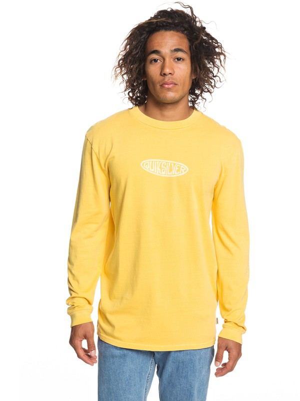 0 Gliding Light Long Sleeve Tee Orange EQYZT05253 Quiksilver