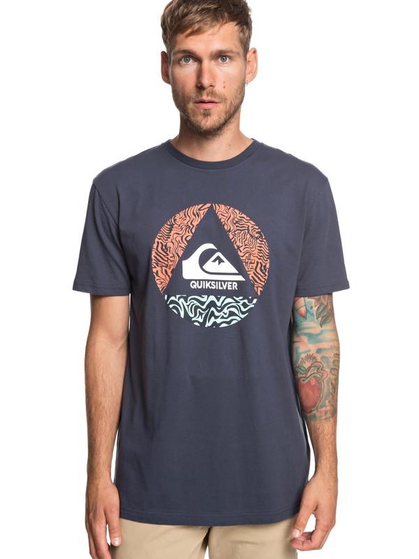 0 Ca Plane Pour Moi - T-Shirt für Männer Blau EQYZT05256 Quiksilver