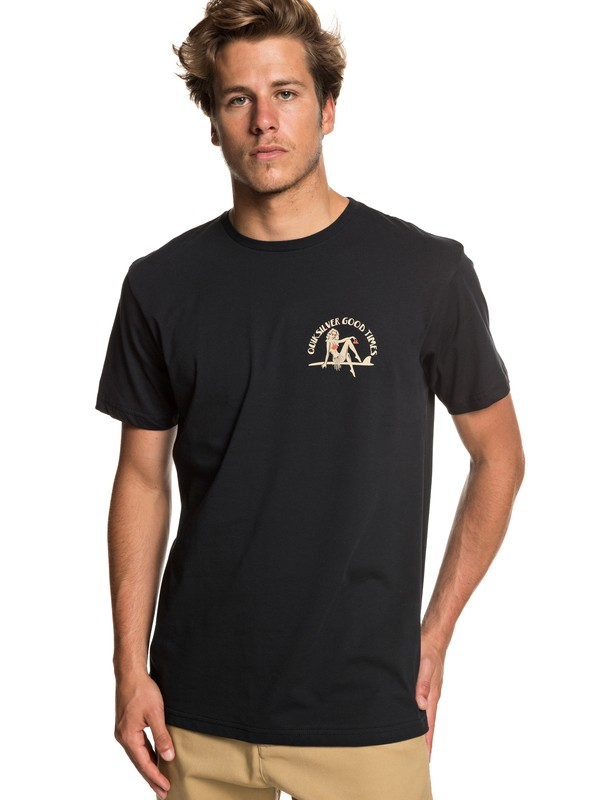 0 Kid Atypical - T-Shirt for Men Black EQYZT05258 Quiksilver