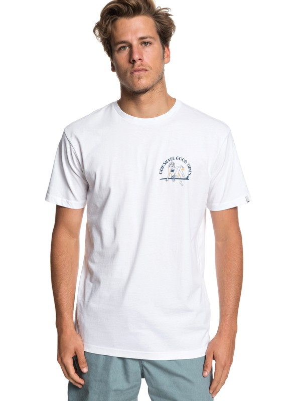 0 Kid Atypical - T-Shirt for Men White EQYZT05258 Quiksilver