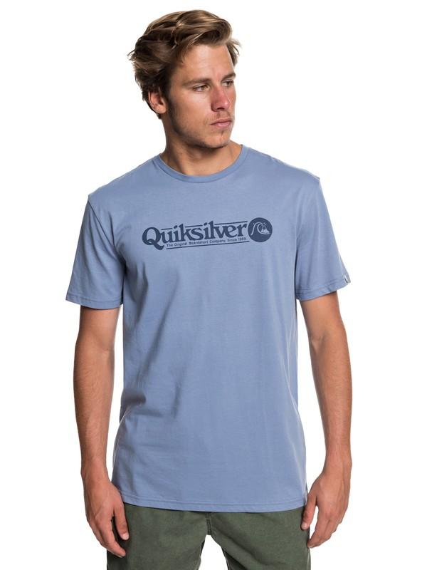 0 Art Tickle - T-Shirt voor Heren Blue EQYZT05259 Quiksilver