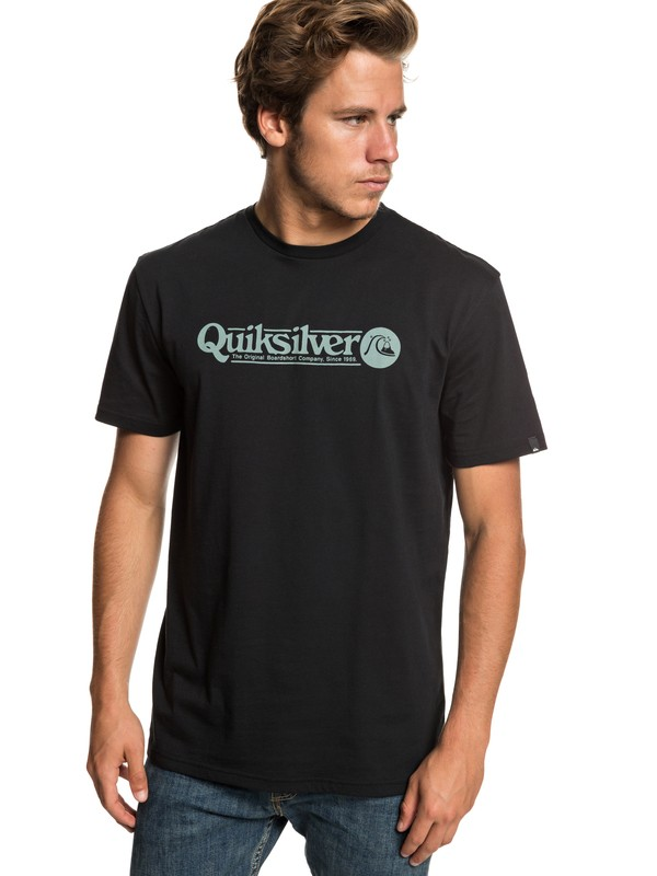 0 Art Tickle - T-Shirt for Men Black EQYZT05259 Quiksilver
