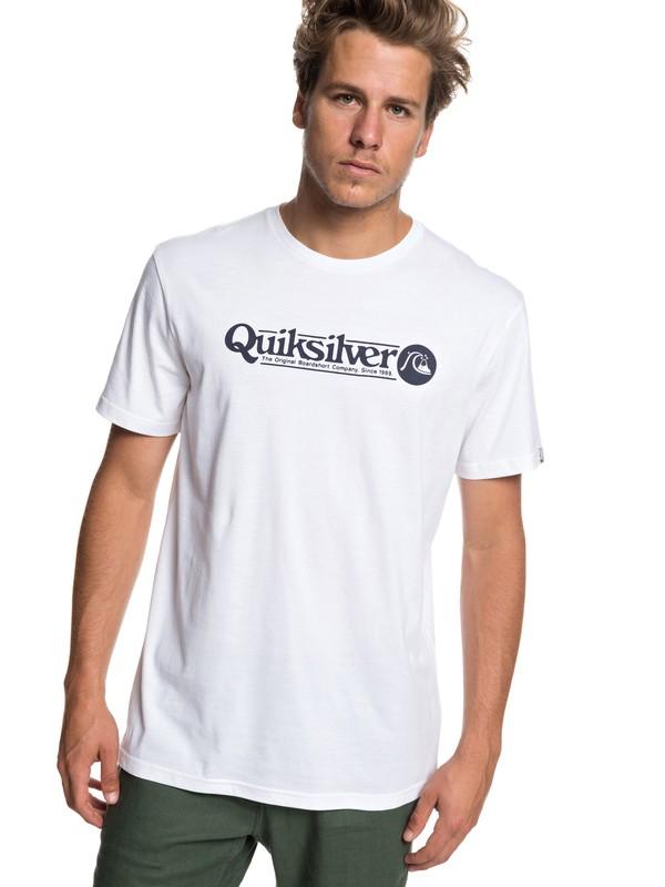 0 Art Tickle - T-Shirt for Men White EQYZT05259 Quiksilver