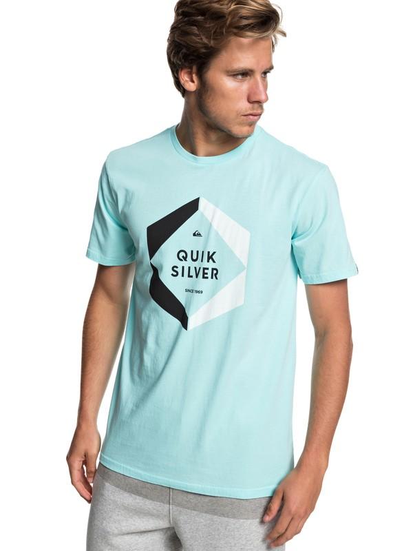 0 Hexa Logo - Camiseta para Hombre Azul EQYZT05260 Quiksilver