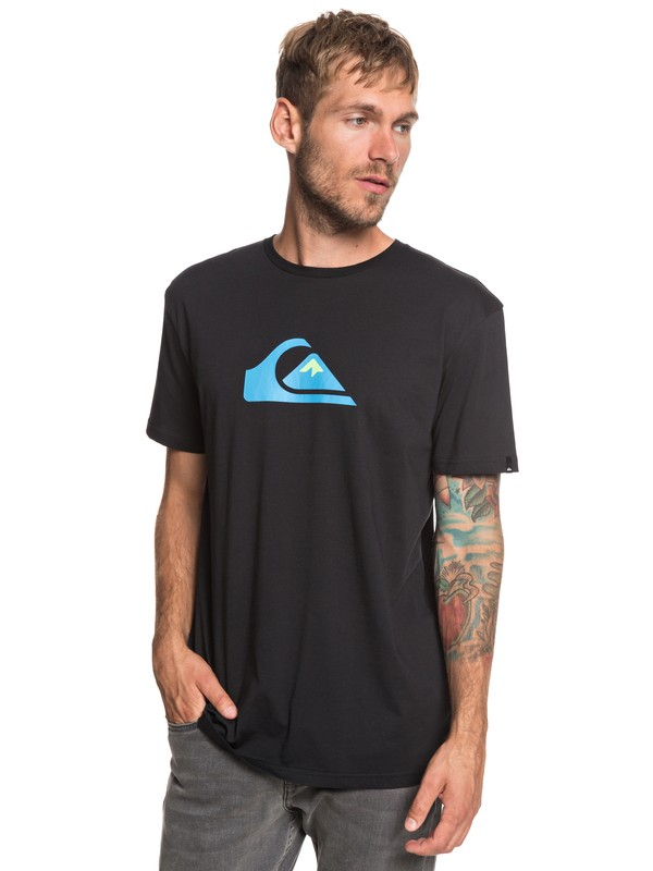 0 M And W - T-Shirt for Men Black EQYZT05262 Quiksilver