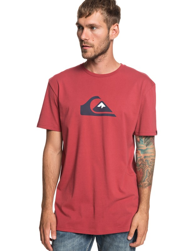 0 M And W - T-Shirt for Men Red EQYZT05262 Quiksilver