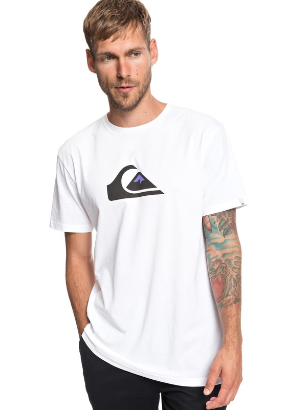 0 M And W - T-Shirt for Men White EQYZT05262 Quiksilver