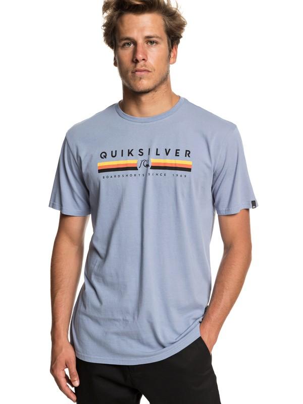 0 Футболка Get Bizzy Синий EQYZT05263 Quiksilver