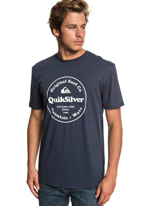 0 Футболка Secret Ingredient Синий EQYZT05265 Quiksilver