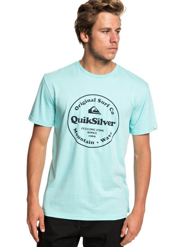0 Secret Ingredient - Camiseta para Hombre Azul EQYZT05265 Quiksilver