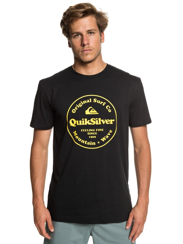 0 Secret Ingredient - Camiseta para Hombre Negro EQYZT05265 Quiksilver
