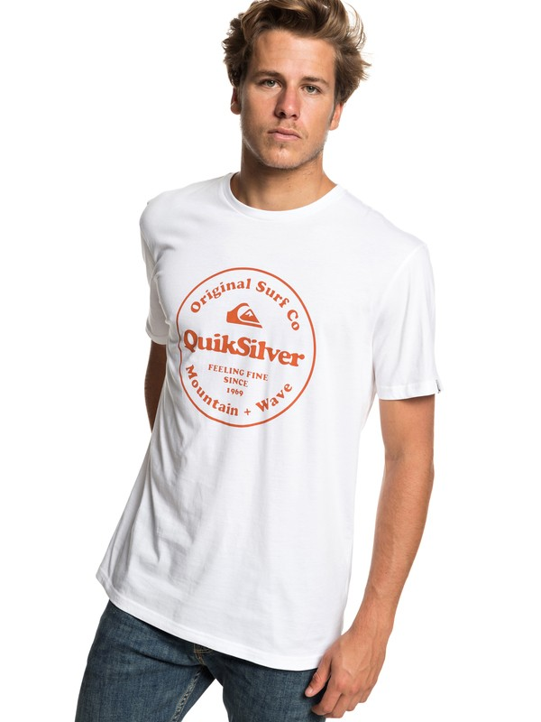 0 Secret Ingredient - Camiseta para Hombre Blanco EQYZT05265 Quiksilver