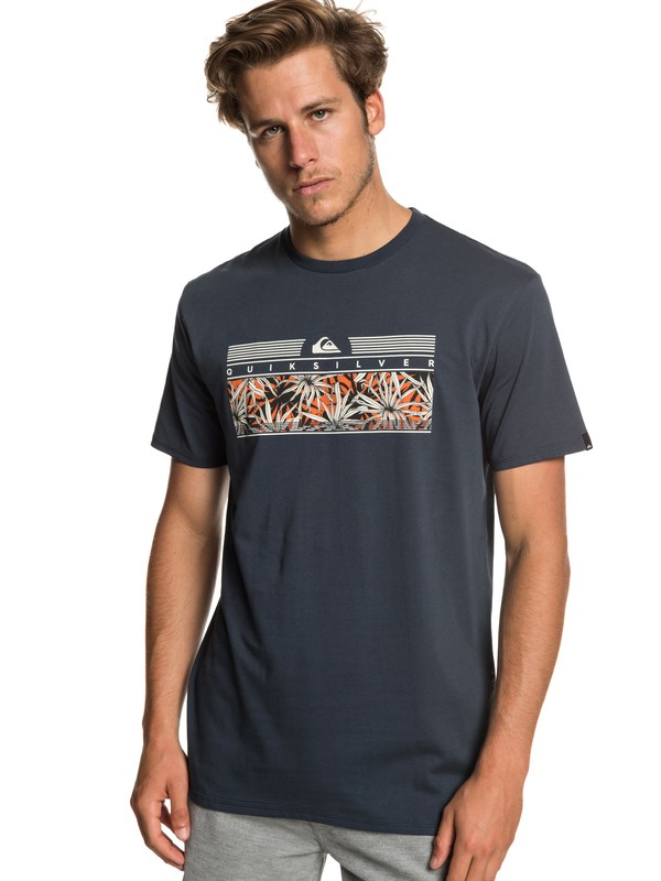 0 Футболка The Jungle Синий EQYZT05267 Quiksilver