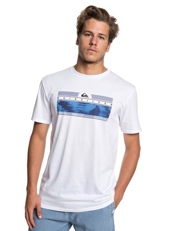 0 Футболка The Jungle Белый EQYZT05267 Quiksilver