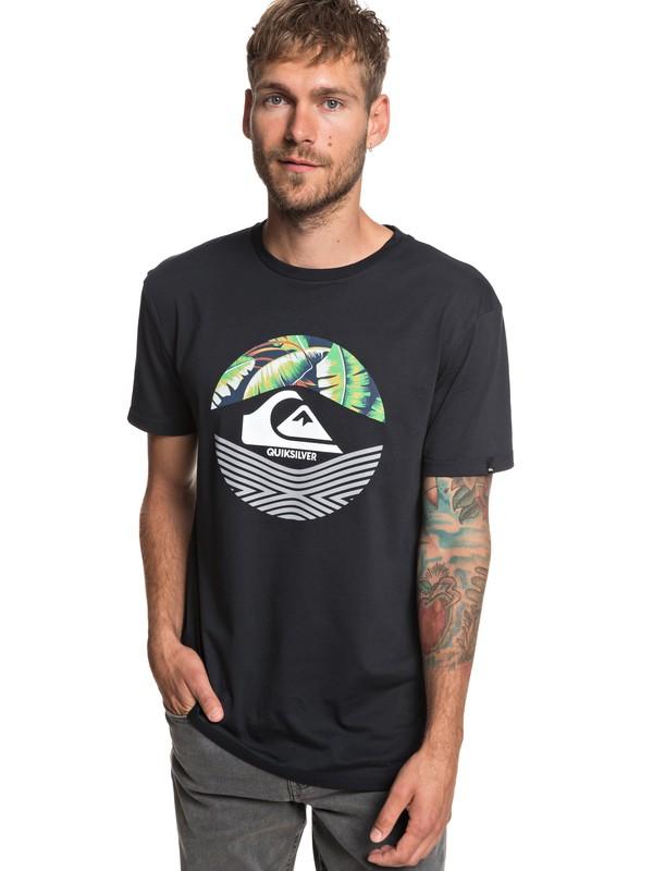 0 Stomped On - T-Shirt für Männer Schwarz EQYZT05268 Quiksilver