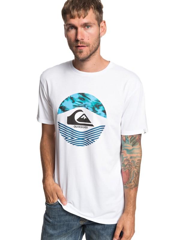 0 Stomped On - T-Shirt für Männer Weiss EQYZT05268 Quiksilver