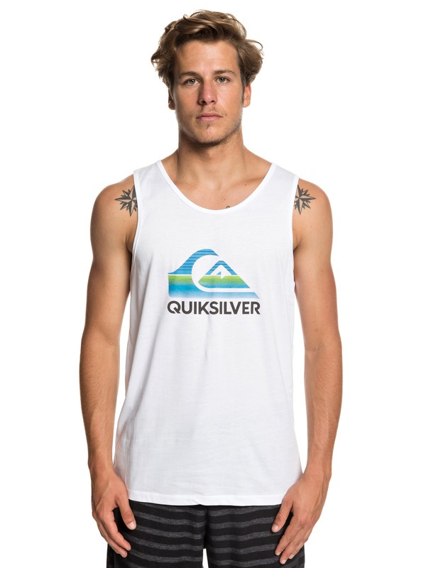 0 Waves - Vest for Men White EQYZT05286 Quiksilver