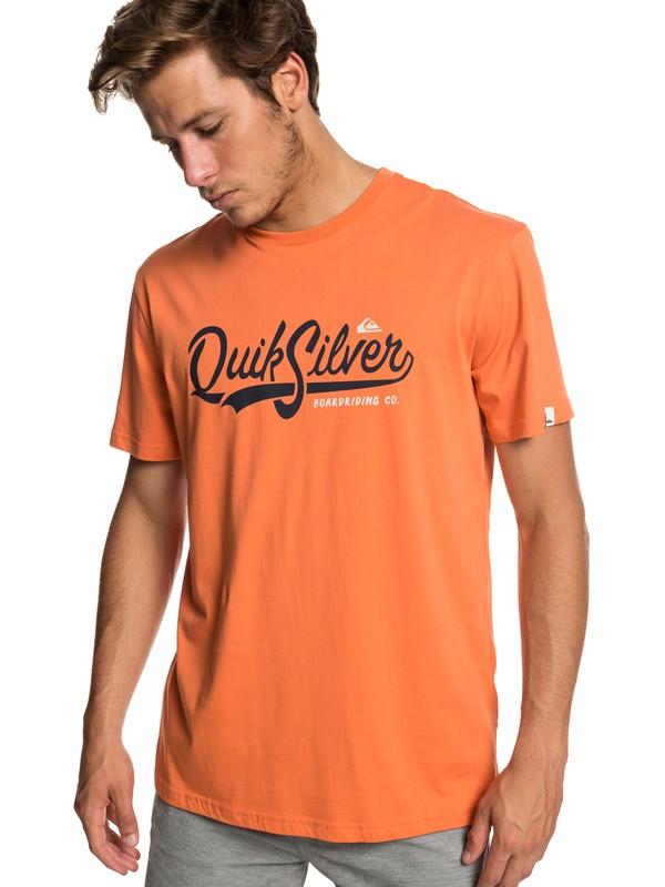 0 Quik Pool - Camiseta para Hombre Naranja EQYZT05293 Quiksilver