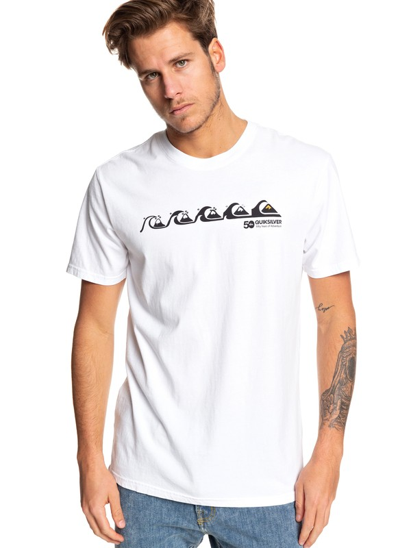 0 Evo - T-Shirt for Men White EQYZT05335 Quiksilver