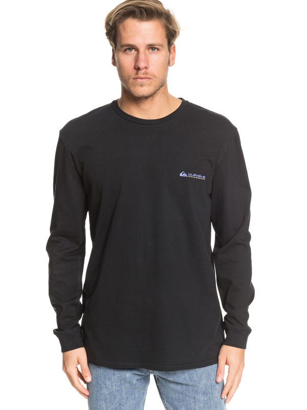 0 St Comp Pro Trials Long Sleeve Tee Black EQYZT05343 Quiksilver