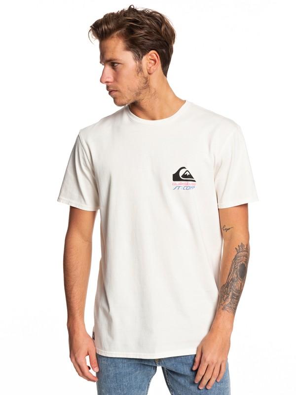 0 Surf Fast Tee White EQYZT05344 Quiksilver