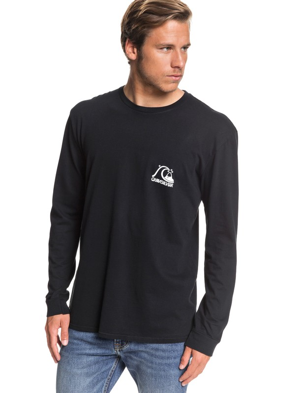 0 Echo Star Long Sleeve Tee Black EQYZT05345 Quiksilver
