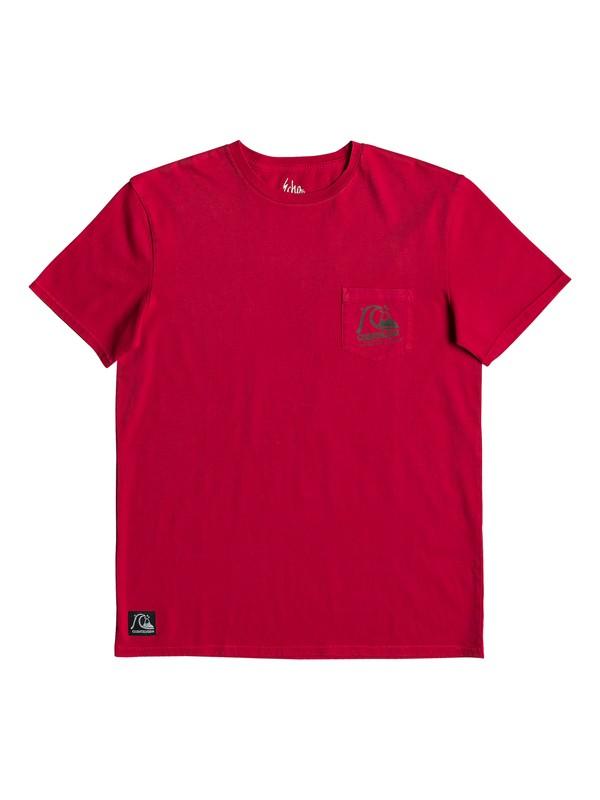 0 Rock And Roll - Camiseta para Hombre Rojo EQYZT05347 Quiksilver