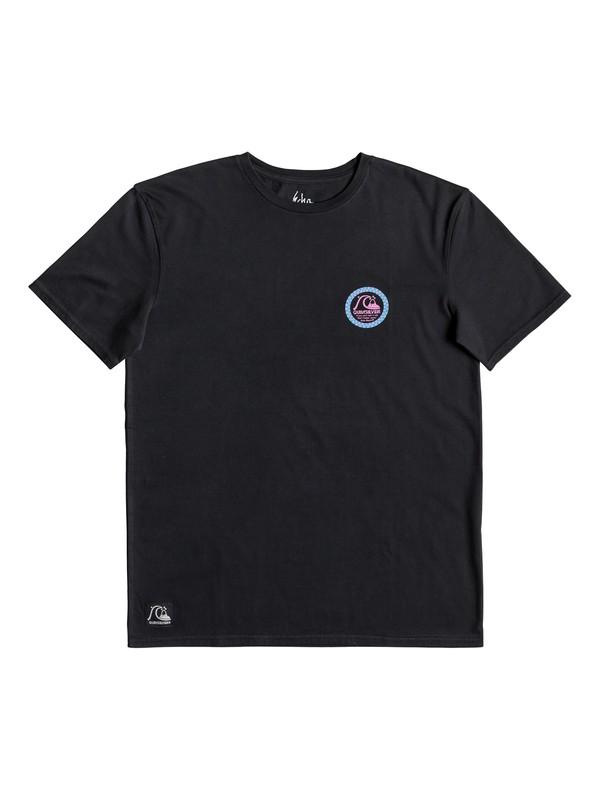 0 Black Ball - Maglietta da Uomo Black EQYZT05349 Quiksilver