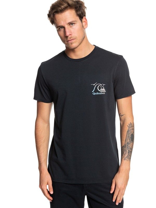 0 Faded Potential Tee Black EQYZT05361 Quiksilver